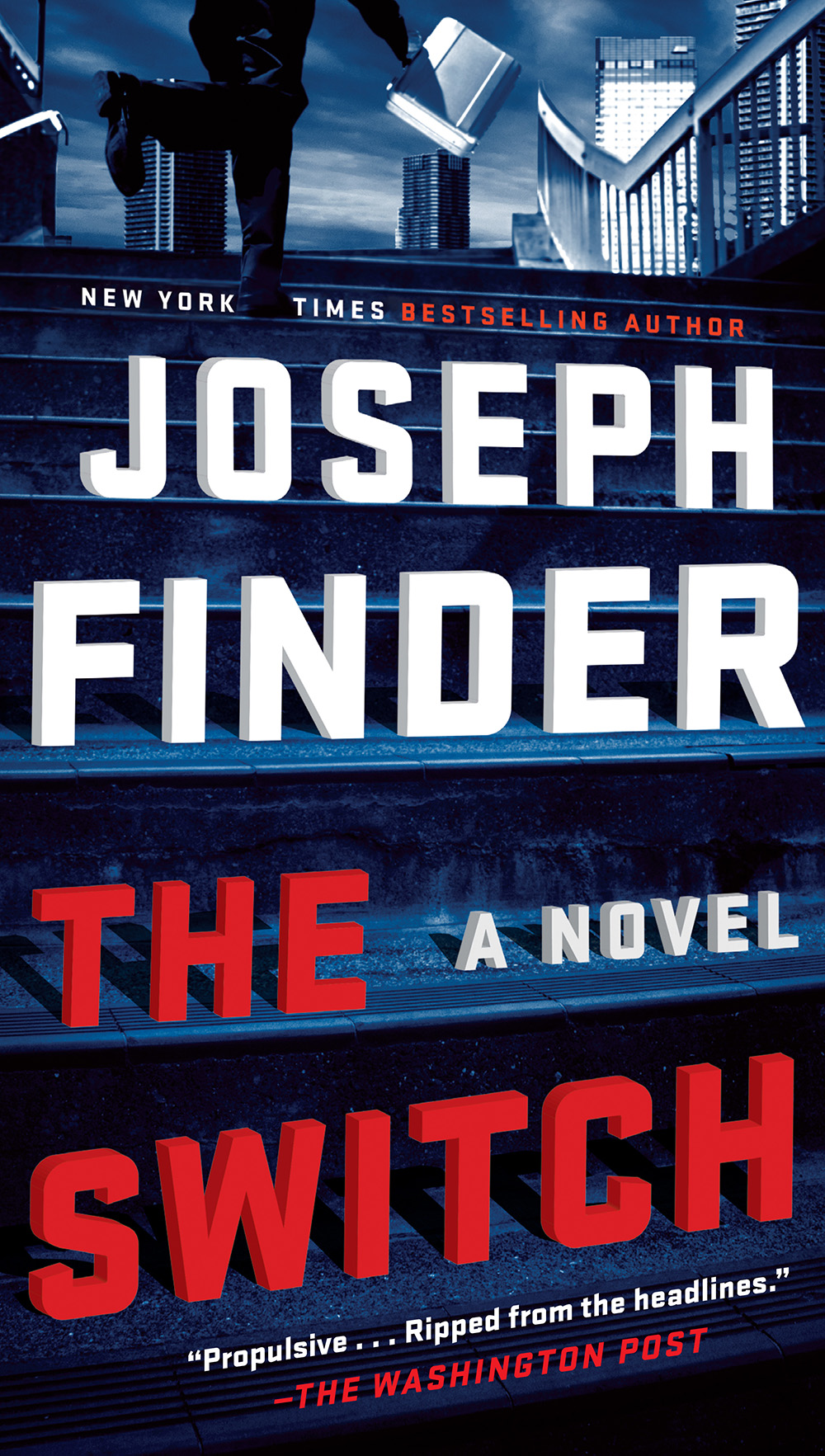 The Switch by Joseph Finder - paperback cover